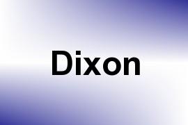 Dixon name image