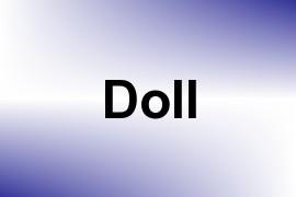 Doll name image