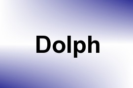 Dolph name image