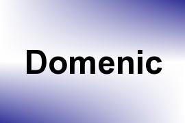 Domenic name image