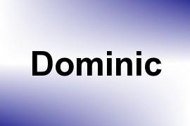 Dominic name image