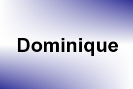 Dominique name image