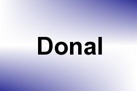 Donal name image