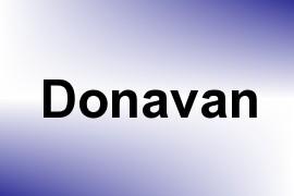 Donavan name image