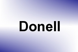 Donell name image
