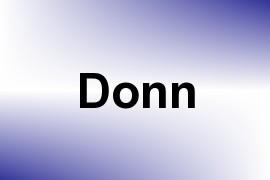 Donn name image
