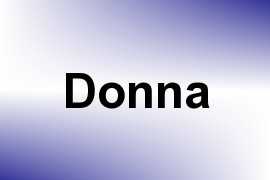 Donna name image