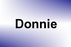 Donnie name image