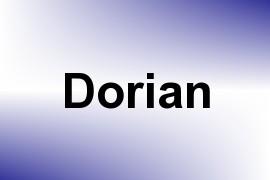 Dorian name image