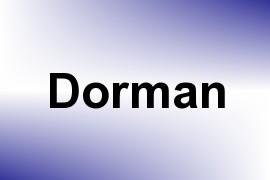 Dorman name image