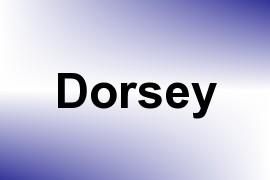 Dorsey name image