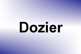 Dozier name image