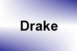 Drake name image