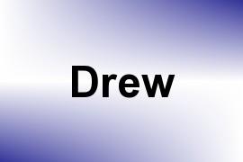 Drew name image