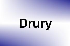 Drury name image