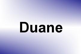 Duane name image