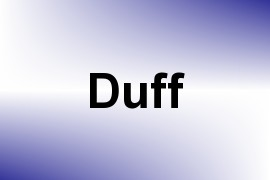 Duff name image