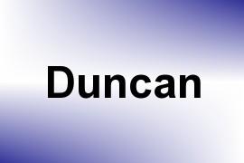 Duncan name image