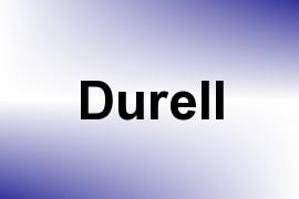 Durell name image