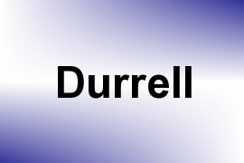 Durrell name image