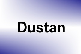 Dustan name image