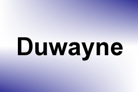 Duwayne name image