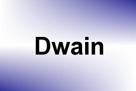 Dwain name image