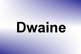 Dwaine name image