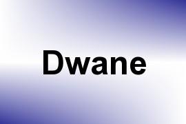 Dwane name image