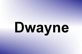 Dwayne name image