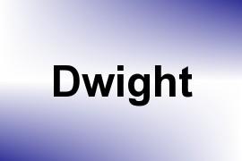 Dwight name image