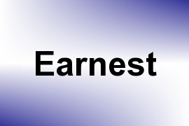Earnest name image