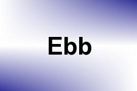 Ebb name image