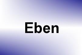 Eben name image
