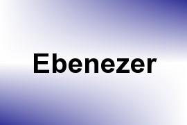 Ebenezer name image