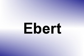 Ebert name image
