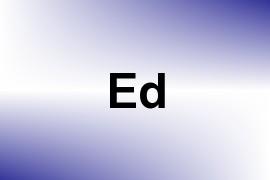 Ed name image