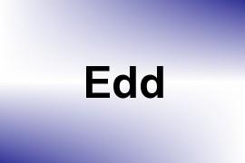 Edd name image