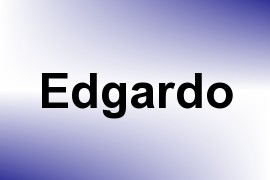 Edgardo name image