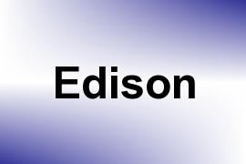 Edison name image