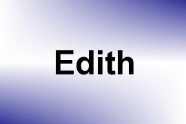 Edith name image