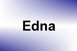 Edna name image