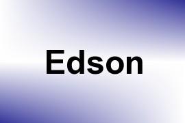 Edson name image