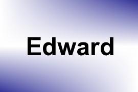 Edward name image