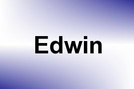 Edwin name image
