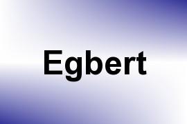 Egbert name image