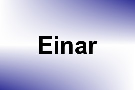 Einar name image