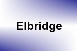 Elbridge name image
