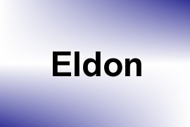 Eldon name image