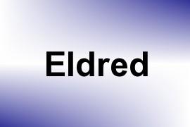 Eldred name image